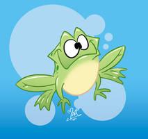 Frog by marimoreno