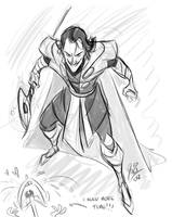 Loki Sketch by marimoreno