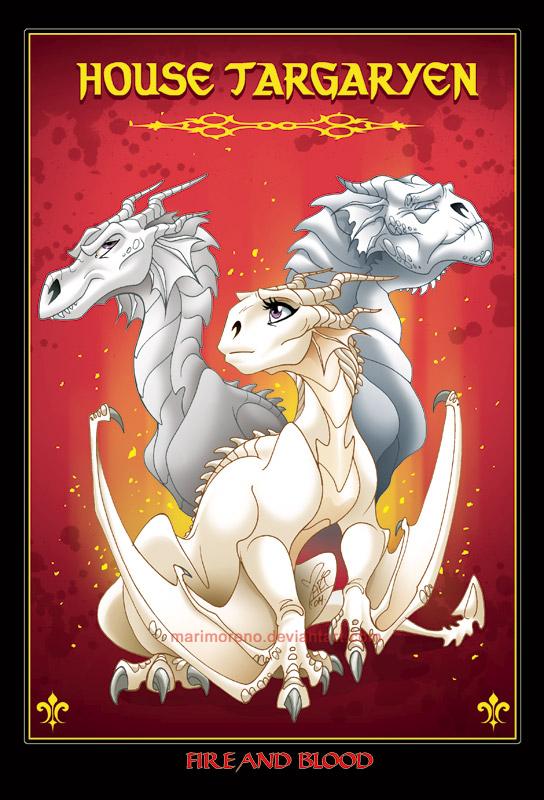 House Targaryen by marimoreno