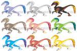 Raptor Color Studies