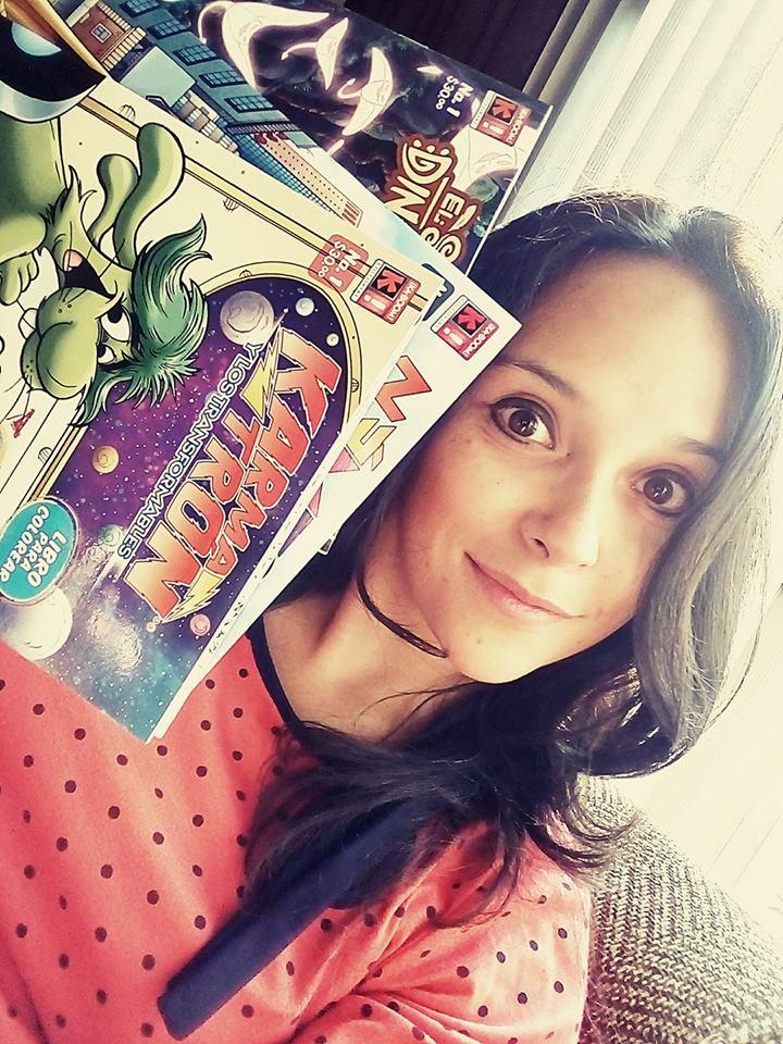 Ka-Boom! Coloring Books by marimoreno