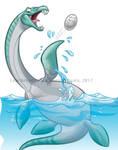 Dino Dunk Plesiosaurus