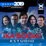 Ka-Boom! Estudio en La Mole 2019