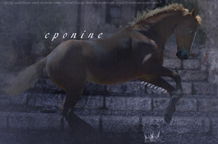 eponine by DarkRapidash