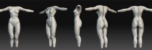 Female Anatomy study by ra1590
