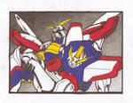 Death of Shining Gundam