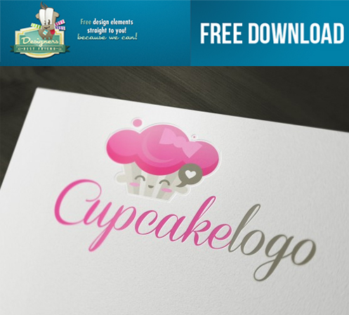 Cute Cupcake Logos Free Download Cute Cupcake