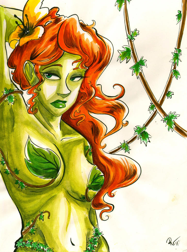 Poison ivy naked naked photo 94