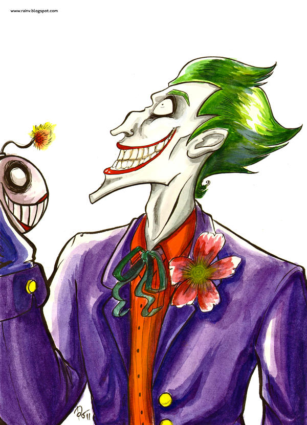 Batman Villians: The Joker by Amegan on DeviantArt