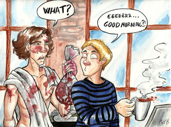 Good Morning Sherlock by Amegan
