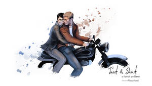 Castiel and Dean - twist and shout by Franciswill