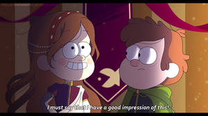 Kingdom of Gravity (Gravity Falls AU): Screenshot by AndromedaShiro