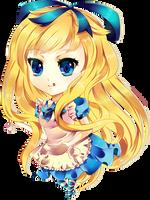 Alice In Wonderland by Raayzel