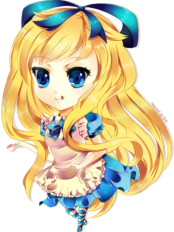 Alice In Wonderland by Raayzel