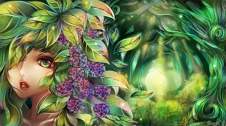 Forest of Art by Raayzel