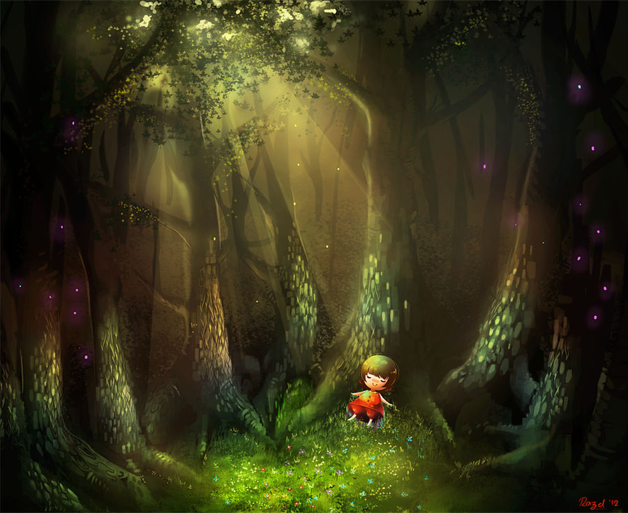Peaceful Solitude by Raayzel