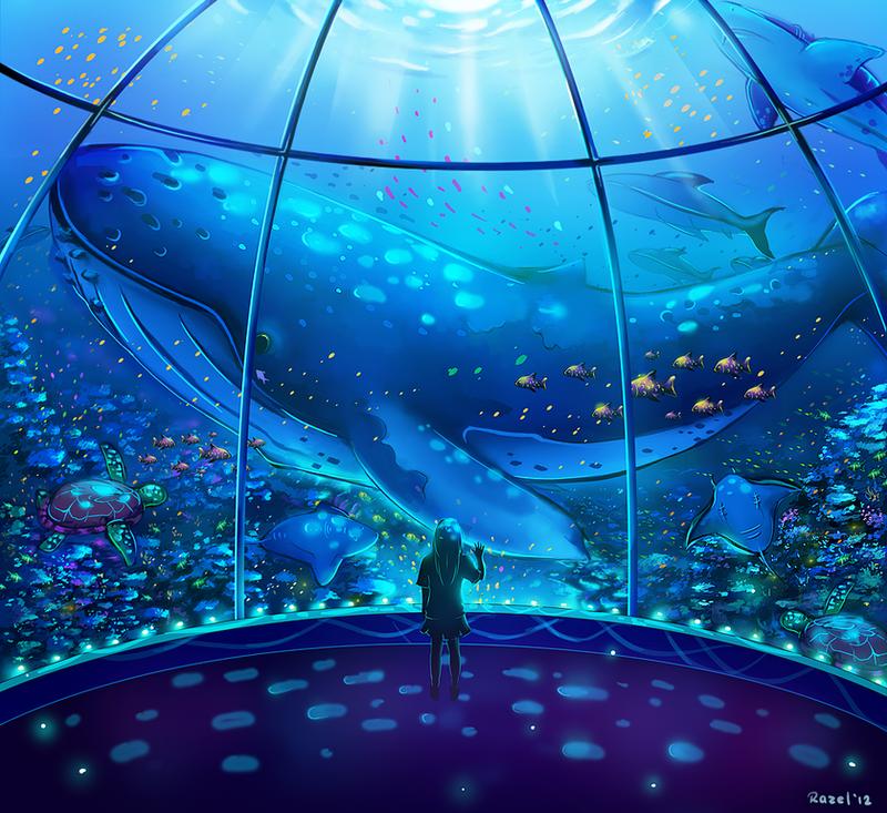 Leave the ocean behind by Raayzel