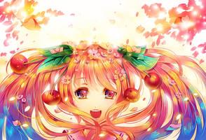 Sakura Miku by Raayzel