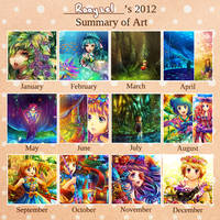2012 Art Summary by Raayzel