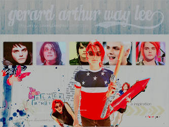 Happy Birthday Gerard Way by loveelydesigns