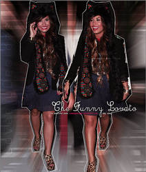 The Funny Lovato by loveelydesigns
