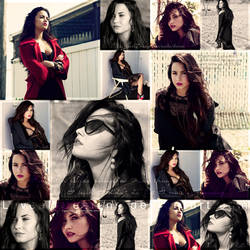 Demi Collage by loveelydesigns