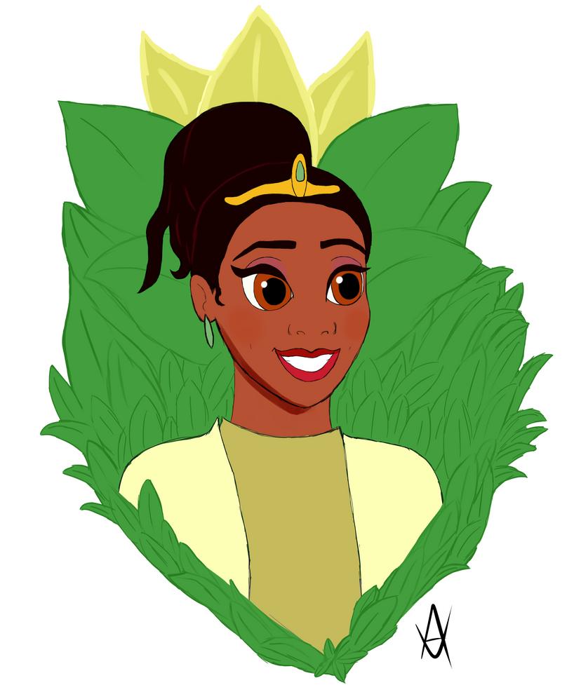 Princess Tiana by Avus-Art
