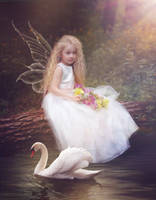 Fairy by the lake by Tracy59