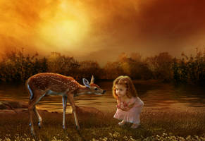 Darcey and the Fawn by Tracy59