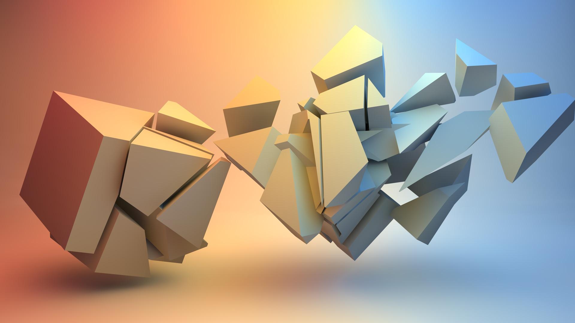broken cube 39 s by pyxartz on deviantart