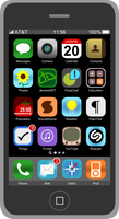 iPhone by wildgica