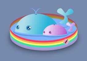 Rainbow Pool by wildgica