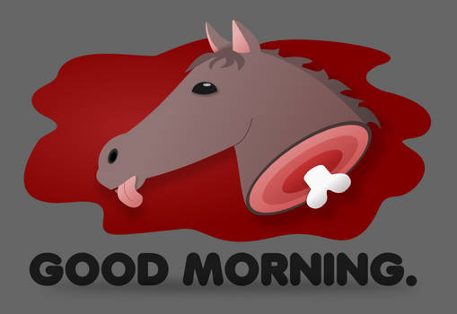 Mornin' Horse Head