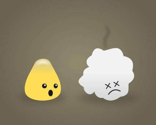 Poor Popcorn by wildgica