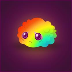 Rainbow Fluff by wildgica