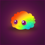 Rainbow Fluff