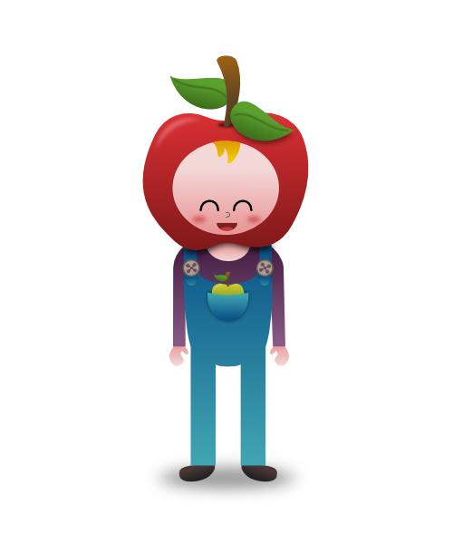 Apple Boy by wildgica