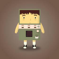 My Coffee Samurai by wildgica