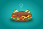 Cheeseburger Frog