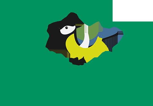 Nyitnikék Erdei Iskola Logo – for Zalaerdő Zrt.