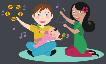 A Musical Family - for PercusSing.hu