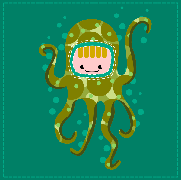 Octopus by wildgica