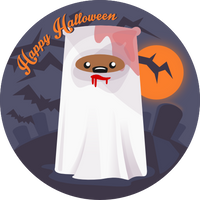 Halloween Bear by wildgica