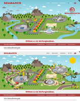 Website Header Images for Szabadics Co. Ltd. by wildgica