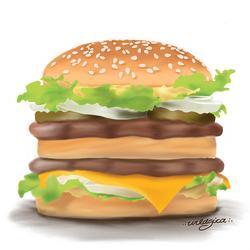 Burger by wildgica