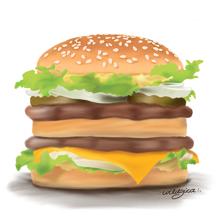 Burger by wildgica