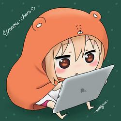 Umaru-chan by wildgica