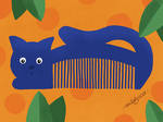 Retro Cat Comb