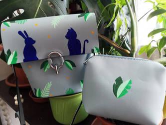 Bunny+Cat Shoulder Bag