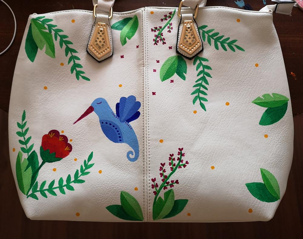 Hummingbird Bag by wildgica